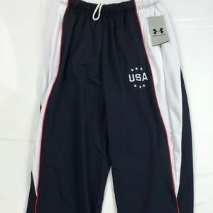 Under Armour Adult Sweatpants USA Embroidered